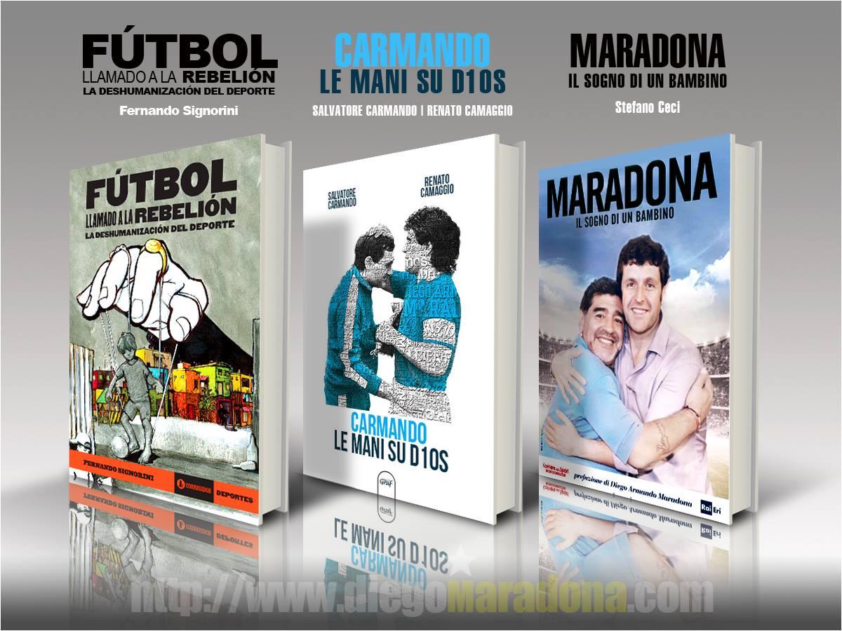 Giuliano, Carmando e Maradona