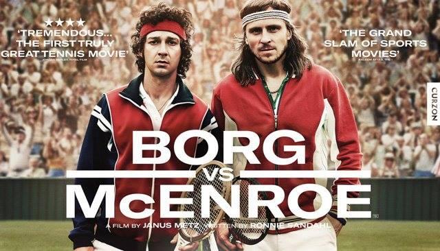 Borg McEnroe, il film