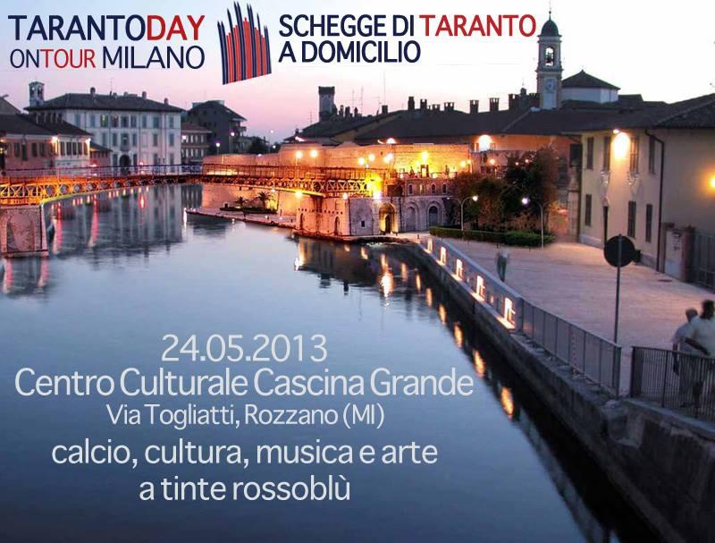 Venerdì 24 maggio: Taranto Day on Tour a Milano!