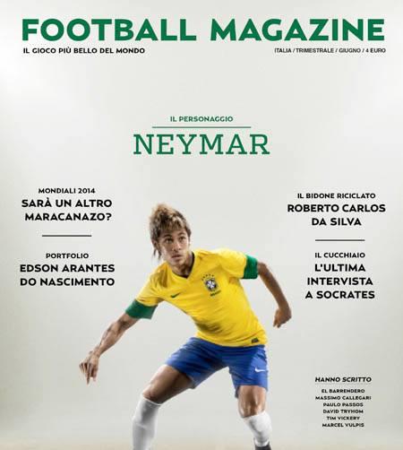 """""""Brasiliani d'Italia"""": articolo su Football Magazine"""