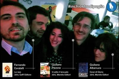 Inchiostro di Puglia a Milano, con Giuliana Altamura e Fernando Coratelli